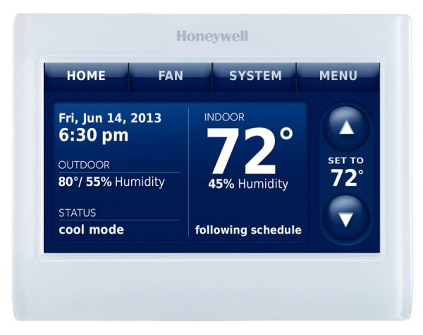 Honeywell Prestige® IAQ wireless thermostat